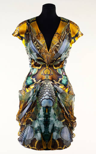 Photo of Plato's Atlantis, dress, Alexander McQueen, 2010, Britain. Museum no. T.11-2010. © Victoria and Albert Museum, London