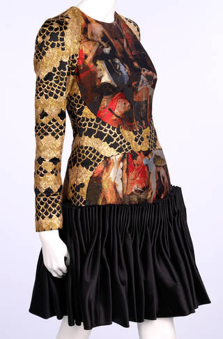 Photo of Evening dress, Alexander McQueen, 2010, Britain. Museum no. T.109-2011. © Victoria and Albert Museum, London