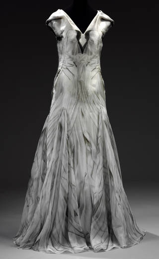 Photo of Dress, Alexander McQueen, 2010, Britain. Museum no. T.91-2011. © Victoria and Albert Museum, London