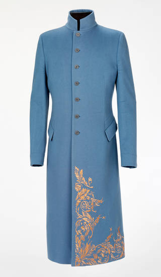Photo of Coat, Alexander McQueen, 1995, Britain. Museum no. T.33-2011. © Victoria and Albert Museum, London