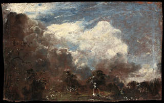 Landscape with a kiln, oil painting, John Constable, 1821 – 1822, England. Museum no. 125-1888. © Victoria and Albert Museum, London