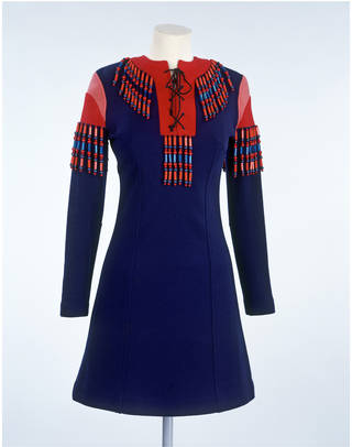 Photo of Mini dress, Jeff Banks, 1968, England. Museum no. T.95-1981. © Victoria and Albert Museum, London