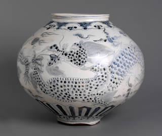 Photo of Jar, 1750 – 1850, Korea. Museum no. C.15-1919. © Victoria and Albert Museum, London