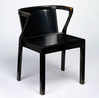 Armchair, designed by Alvar Aalto, manufactured by Artek, 1929, Finland. W.53-1977. © Victoria and Albert Museum, London
