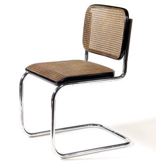 Model B32 chair, Marcel Breuer, 1928, Germany. Museum no. W.10-1989. © Victoria and Albert Museum, London
