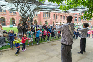 Performances in The Sackler Courtyard  photo