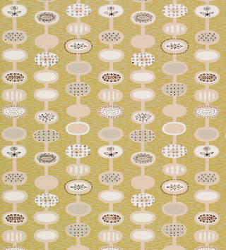 Photo of Provence, wallpaper, Lucienne Day, 1951, England. Museum no. E.569-1966. © Robin and Lucienne Day Foundation/Victoria and Albert Museum, London