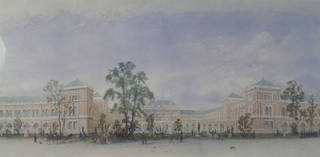 Design for the South Kensington Museum (detail), Francis Fowke, 1865. Museum no. E.924-1976. © Victoria and Albert Museum, London