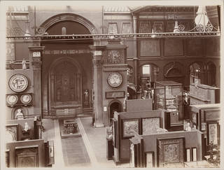The North Court in the late 19th century. Museum no. E.1101-1989. © Victoria and Albert Museum, London
