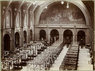 The South Court of the South Kensington Museum, about 1886. Museum no. E.1103-1989. © Victoria and Albert Museum, London