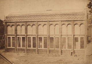 Exterior view of the Sheepshanks Gallery, west side, about 1872. © Victoria and Albert Museum, London