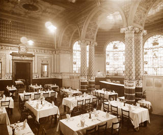 The Centre Refreshment Room (later named The Gamble Room), late 1860s. Museum no. E.655-2009. © Victoria and Albert Museum, London