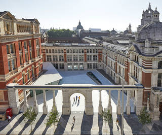 V&A Exhibition Road Quarter, designed by AL_A. ©Hufton+Crow
