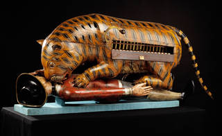 Tipu's Tiger, mechanical organ, unknown maker, about 1793. Museum no. 2545(IS). © Victoria and Albert Museum, London