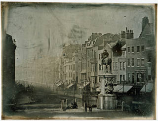 Parliament Street from Trafalgar Square, Monsieur de St Croix, 1839, daguerreotype. Museum no. PH.1-1986. © Victoria and Albert Museum, London