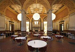 The world's first museum refreshment room - The Gamble Room. © Victoria and Albert Museum, London