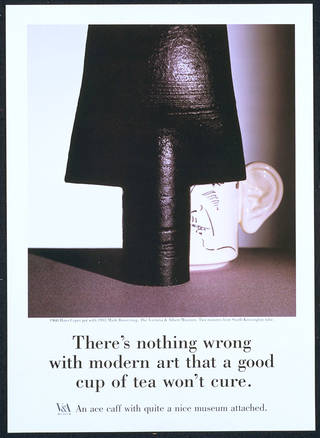 Close  Poster, Saatchi & Saatchi Garland Compton Ltd. late 1980s. Museum no. E.513-1988. © Victoria and Albert Museum, London