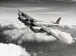 British de Havilland Mosquito, 1941. © de Havilland Aircraft Museum