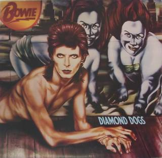 Diamond Dogs, vinyl, produced by David Bowie, RCA Records, cover art by Guy Peellaert, 1974, England. Museum no. S.3354-2013. © Victoria and Albert Museum, London