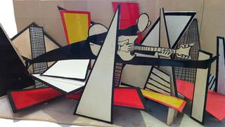 Set design, Derek Boshier, 1982 – 1983, England. Museum no. S.432-2013. © Victoria and Albert Museum, London