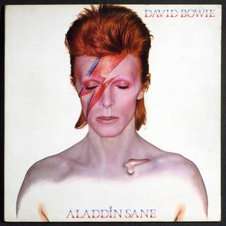 Aladdin Sane album cover, Duffy and Philo, 1970, Uk. Museum no: E.583-1985. © Victoria and Albert Museum, London