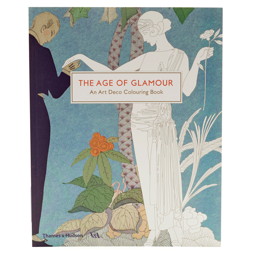 The Age of Glamour Colouring Book