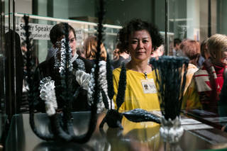 Silversmithing Demonstration with Junko Mori photo