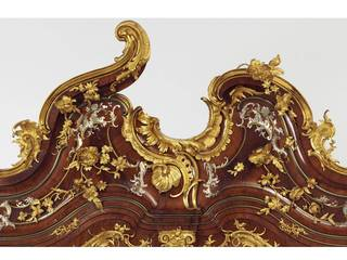 Background image: Writing cabinet (detail), probably by Michael Kimmel, 1750 – 55, Dresden, Germany. Museum no. W.63-1977. © Victoria and Albert Museum, London