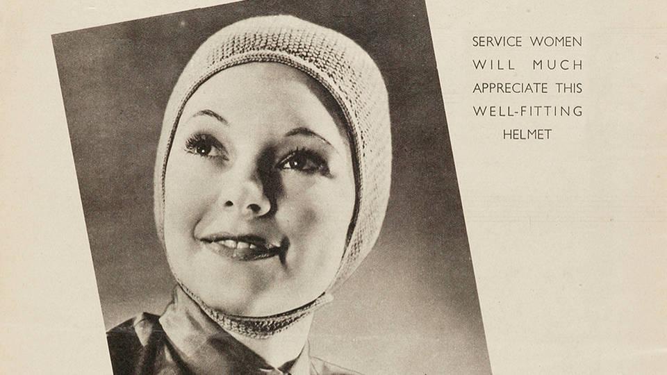 V&A · 1940s knitting patterns