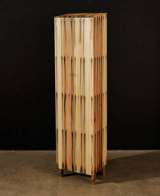 Tall Bleed Cabinet, Peter Marigold, 2014, England. Image courtesy of Sarah Myerscough.