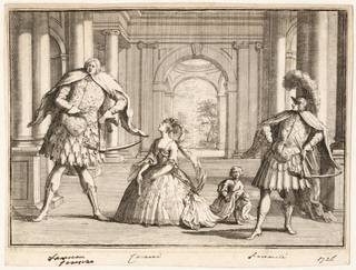 The Castrati, engraved print, 1726, England. Museum no. S.4254-2009. © Victoria and Albert Museum, London