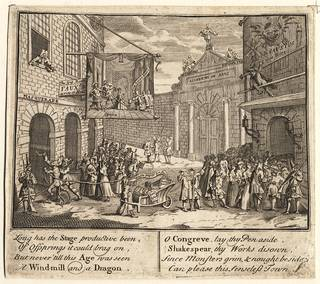 The Bad Taste of the Town, engraving, William Hogarth, 1724, England. Museum no. S.986-2009. © Victoria and Albert Museum, London