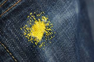 Maps of Wear and Tear: The Art of Darning photo