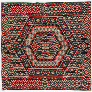 Photo of Quilt, Francis Brayley, about 1864 – 77, India. Museum no. T.58-2007. © Victoria and Albert Museum, London