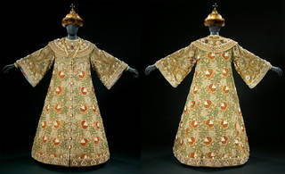 Costume for Boris Godunov, worn by Feodor Chaliapin, designed by Alexander Golovin, about 1909, Russia.  Museum no: S.459 to E-1979. © Victoria and Albert Museum, London