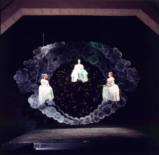 Scene from Peter Hall's production of Francesco Cavalli's La Calisto, Glyndebourne, 1970, UK. © Victoria and Albert Museum, London