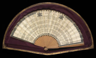 The Opera Fan, 1800, England. Museum no. S.1647-2014. © Victoria and Albert Museum, London