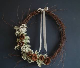Handcrafted Christmas Wreaths photo
