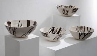 Earthenware bowls from the Garden Ware range. Photograph © 1882 Ltd.