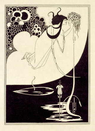 Photo of The Climax, print, Aubrey Beardsley, 1894, England. Museum no. E.436-1972. © Victoria and Albert Museum, London