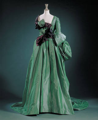 Watteau evening dress, Vivienne Westwood, 1996, England. Museum no. T.438:1 to 4-1996. © Vivienne Westwood/Victoria and Albert Museum, London
