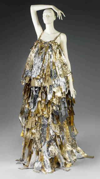 Photo of Evening dress, Craig Lawrence, 2010, England. Museum no. T.70-2011. © Victoria and Albert Museum, London