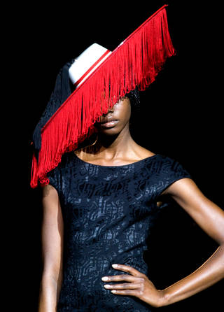 Photo of Millinery in Motion, 2009. © Victoria and Albert Museum, London