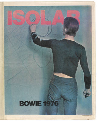 Isolar poster magazine, David Bowie, 1976, US. Museum no. S.1101:1 to 2-2010. © Victoria and Albert Museum, London