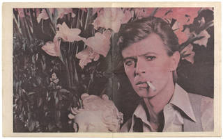 Isolar II poster magazine, David Bowie, 1978, US. Museum no. S.1171:1 to 2-2010. © Victoria and Albert Museum, London