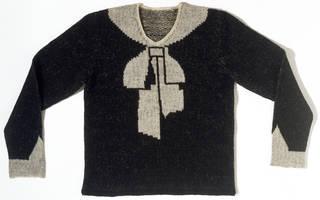 Cravat jumper, Elsa Schiaparelli, 1927, France. Museum no. T.388-1974. © Victoria and Albert Museum, London