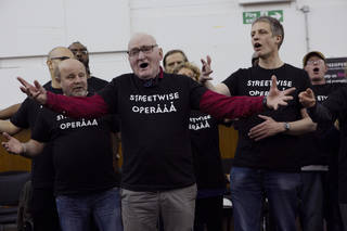 Opera Weekender: Streetwise Opera Workshop photo