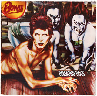 Photo of Diamond Dogs, vinyl, David Bowie (producer), Guy Peellaert and Leee Black Childers (artists), RCA Records (record label), 1973 – 74, England. Museum no. S.3354-2013. © Victoria and Albert Museum, London