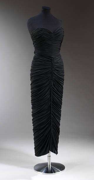 Evening dress, Elsa Schiaparelli, 1949, France. Museum no. T.49-1965. © Victoria and Albert Museum, London