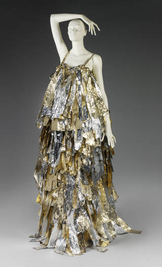 Evening dress, Craig Lawrence, 2010, UK. Museum no. T.70-2011. © Victoria and Albert Museum, London